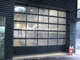 how much does a glass garage door cost how much does a cost spring steel doors