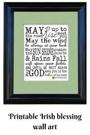irish blessing wall art instant download printable affiliate on irish blessing wall art with irish blessing wall art instant download printable affiliate