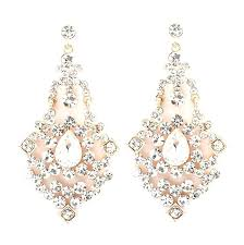 chandelier earring designs silver tea pink yellow crystal round pearl dangling large awesome wide collection of