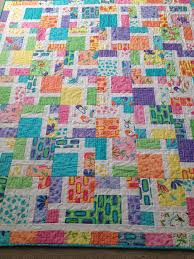 517 best Quilts to Make! images on Pinterest | Colors, Flying ... & Disappearing nine-patch. Fabrics from Me and My Sister (Spring Fling) Adamdwight.com