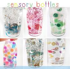 Diy Water Bottle Diy Sensory Bottles White Glycerine Or Baby Oil And Water And