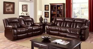brown leather living room furniture. Brown Leather Power Assist Sofa Living Room Furniture