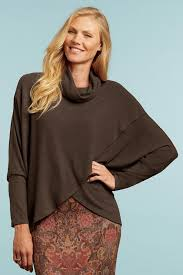 Crossover Cowl Neck Top By Nally Millie My Style Cowl