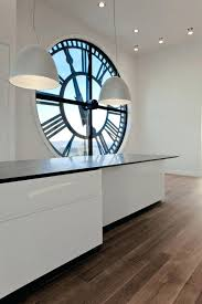 decorative kitchen wall clocks huge clock with black frame on enormous large vintage uk small silver