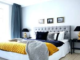navy blue and gold living room ideas bedroom design