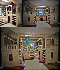 cool diy kids beds. Wonderful Kids 10 Cool DIY Bunk Bed Ideas For Kids How To Be The Coolest Parent Ever  Though Odds Are Slim That I Would Build This On Diy Kids Beds Pinterest