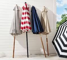 premium sunbrella rectangular umbrella