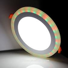Double Color Led Panel Light Recessed 2 In 1 Led Panel Lights Double Color Double Ring Panel Lights Buy Led Panel Lights Panel Lights Double Color Double Ring Panel Lights