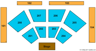 Choctaw Concert Seating Chart Choctaw Casino Resort Tickets In Grant Oklahoma Seating