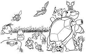Pokemon Pics To Color Pokemon Coloring Pages Pikachu 3339 Of Pokeman