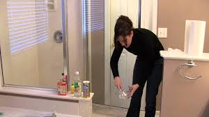 house cleaning stain removal removing rust from a shower stall you
