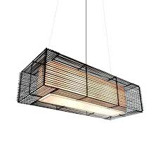 outdoor pendant lighting rectangular hanging lamp by hive b with motion sensor lights lam