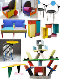 memphis furniture design. The Memphis Group Furniture (1981-1987) Design