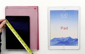 ipad size comparison hands on with alleged ipad pro case gives comparison to apples