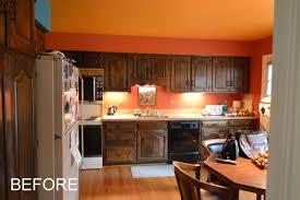 Kitchen Soffit Lighting Before After Bullseye Wood Specialties Llc