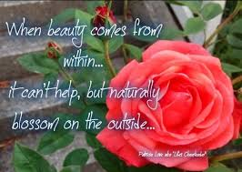Quotes About Roses And Beauty Best of Rose Beauty Comes From Within Quote Via Life's Cheerleader On