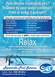 pool service flyers. Flyer Design By Theziners For This Project | Design: #666117 Pool Service Flyers T