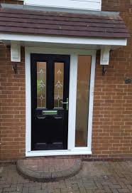 view larger image composite door in north tyneside glass side panel
