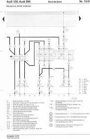 audi 100 200 factory wiring diagrams 10 ph engine 1 8l 66kw 4 cylinder ke jetronic injection