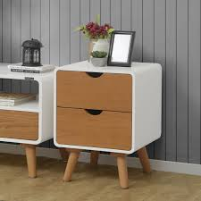 bed side furniture. Modernica Bedside Table Brown Bed Side Furniture