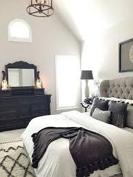gray white black bedroom – womanlife.club