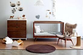 Image of: Cool Mid Century Modern Crib Ideas