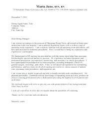 Sample Cover Letter For Nurse Cover Letter Sample Registered Nurse