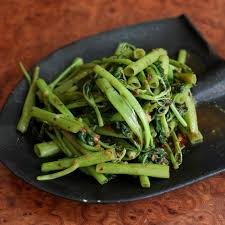 Chinese Water Spinach Or Kangkong Eaten Widely Across