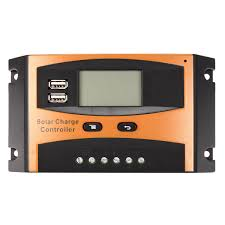 <b>12V</b>/<b>24V</b> 20A <b>Auto</b> USB Charge Controller <b>Solar Panel</b> LCD Display ...