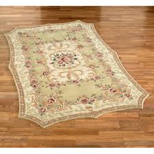 vintage aubusson area rug touch to zoom