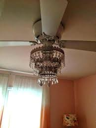 ceiling fan with crystals ceiling fan with chandelier light kit ceiling