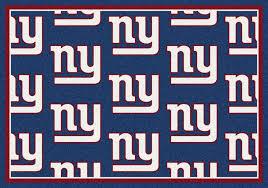 nfl logo mats nfl area rugs sports mats ny giants man cave rug