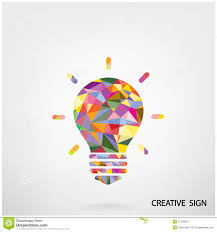 colorful creative light bulb sign colors14
