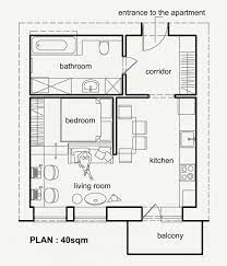 2 beautiful small apartment plans under