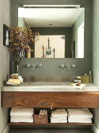 Breathtaking Bathroom Vanity Counter Top A Concrete And Stainless Gorgeous Bathroom Vanity Countertop Ideas