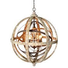 globe chandelier