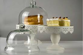 Glass Stands For Display Metal Cake Stand Display With Glass Dome Dessert Fruit Pan Wedding 87