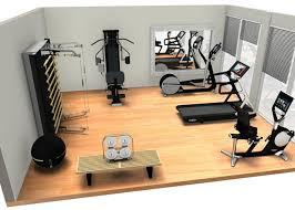 Exellent Home Gym Furniture Superb Designing Layout Intended Modern Ideas