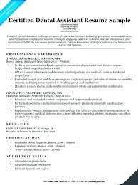 Medical Assistant Resumes Examples Extraordinary Examples Of Dental Assistant Objectives Assisting Resumes Resume For