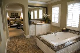 Grey Painted Bathroom Walls Good Example Of Hardwood Floors And Popular Colors For Bathrooms