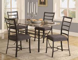 Metal Top Dining Tables Granite Top Dining Table Set Dining Room Set Leather Chairs Best