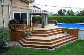 deck ideas. Backyard Deck Ideas Level Patio Design Accessories  For Small Yards S