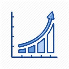 Exponential Growth Chart Presentation Add On 1 Twotone By Vectto