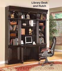 library office furniture parker house venezia library desk amp hutch bookcase wall home office furniture ebay antique home office furniture inspiring goodly
