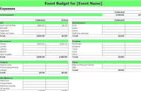 conference budget spreadsheet event budget template excel maney co