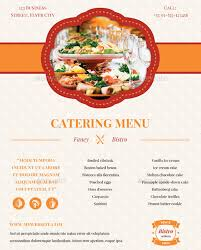 Sample Catering Flyer Templates Catering Flyers Samples Flyer