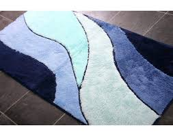 navy blue bathroom rugs and white striped bath rug