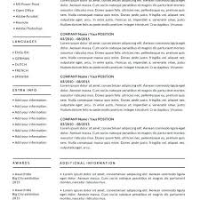 Apple Pages Resume Template Awesome Apple Resume Templates Resume
