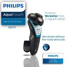 Máy cạo râu du lịch Philips S5070 ( đen xanh ) - Sạch nhanh 1h sử dụng 40p  - Bảo hành 24 tháng