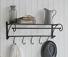 Hallway Furniture Coat Rack 100 Hook Double Coat Rack Three Double Hooks For Coats Simple Hall 74